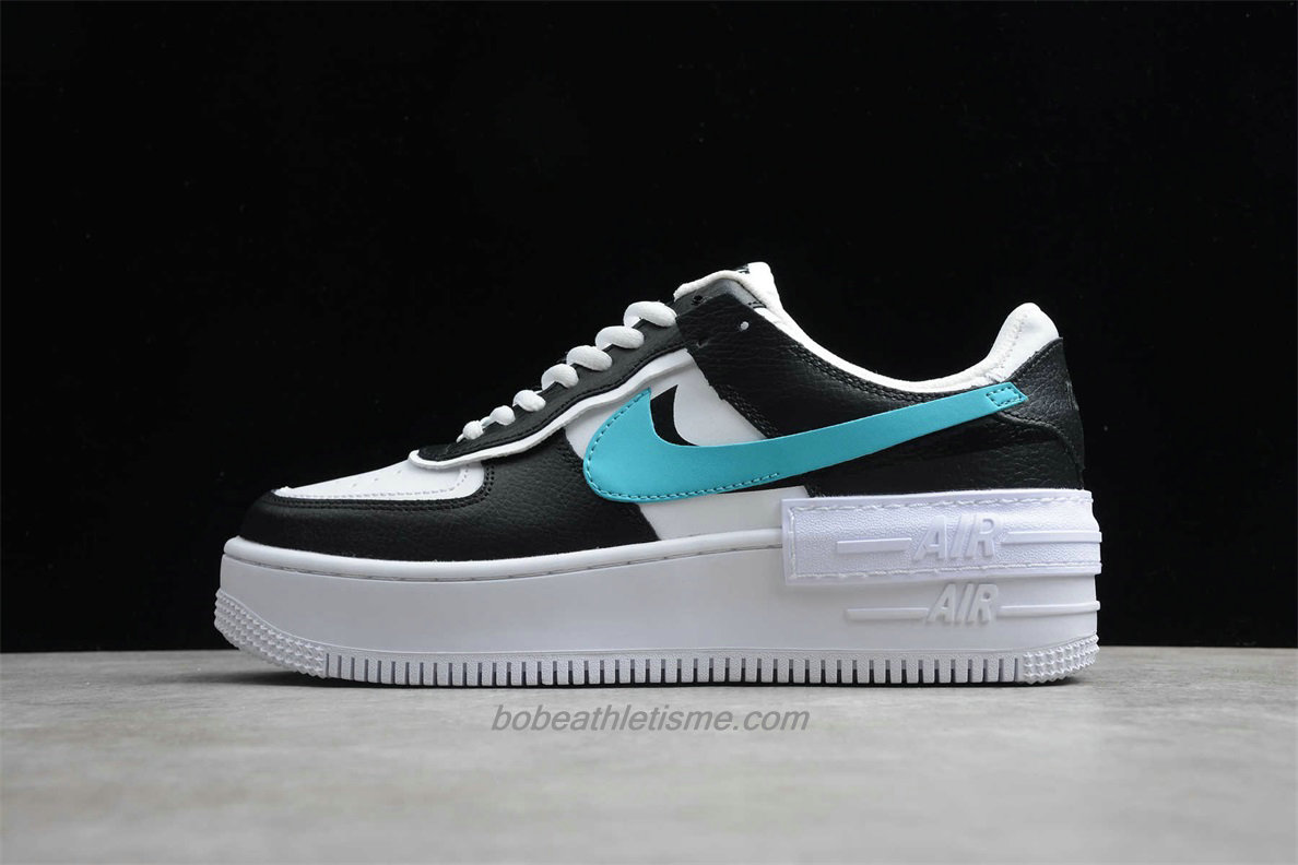 Chaussures Nike Air Force 1 SHADOW SE J1641 041 Blanc / Bleu / Jaune / Rose