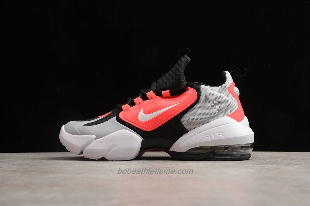 Chaussures Nike Air Max Alpha Savage Hommes AT3378 060 Gris / Rouge / Noir