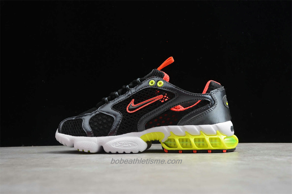 Chaussures Nike Air Zoom Spiridon Cage 2 CD3613 002 Noir / Rouge / Jaune