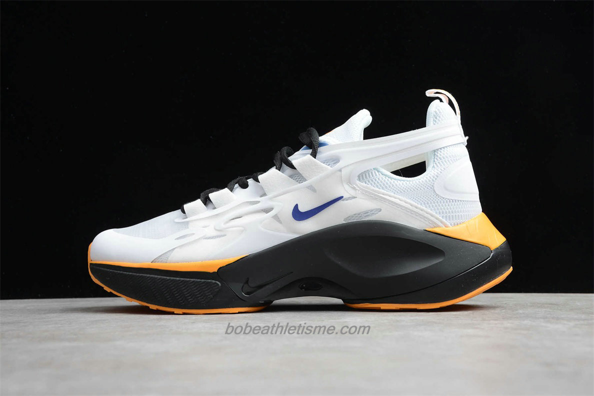 Chaussures Nike Signal D/MS/X Hommes AT5303 148 Blanc / Noir / Jaune