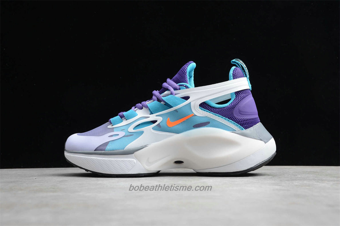 Chaussures Nike Signal D/MS/X Femmes AT5303 150 Violet / Bleu / Blanc