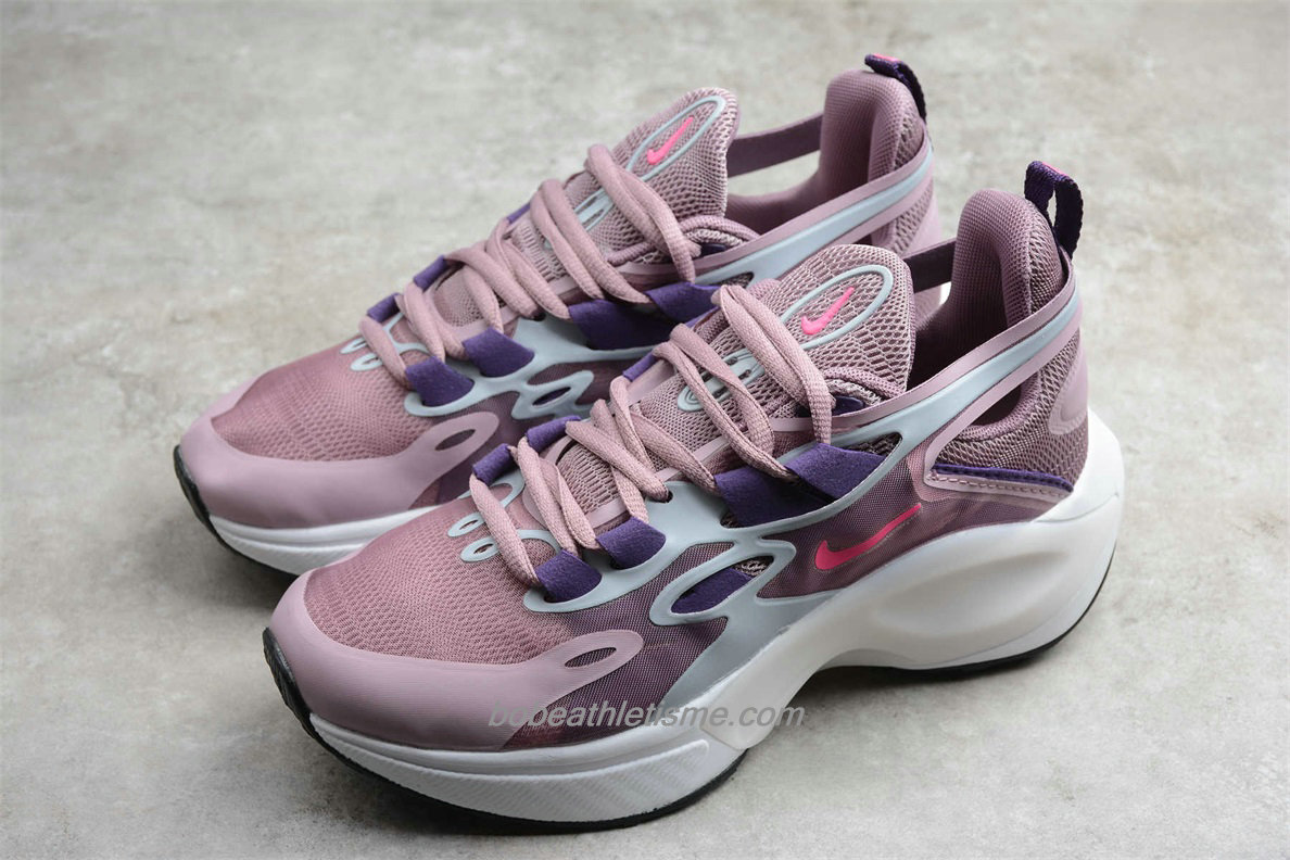 Chaussures Nike Signal D/MS/X Femmes AT5303 160 Rose clair / Violet / Blanc
