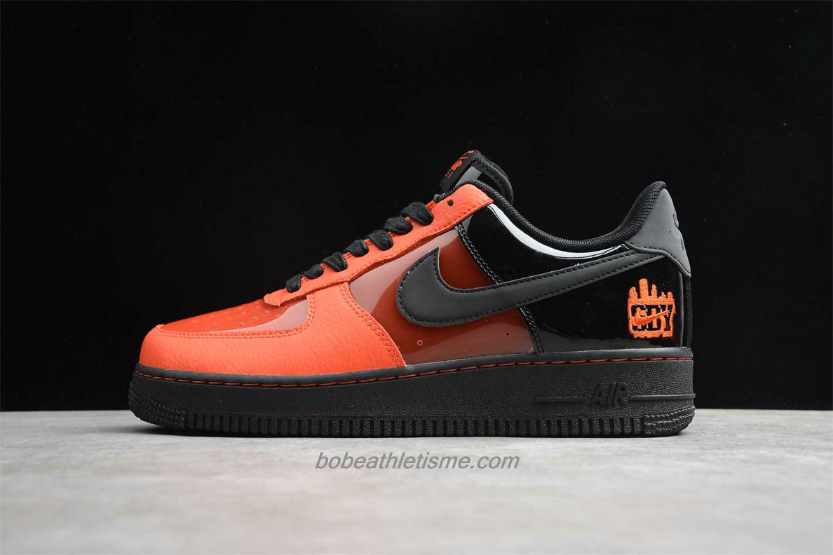 Chaussures Nike Air Force 1 Low 07 RPM 2 CT1251 006 Orange / Noir