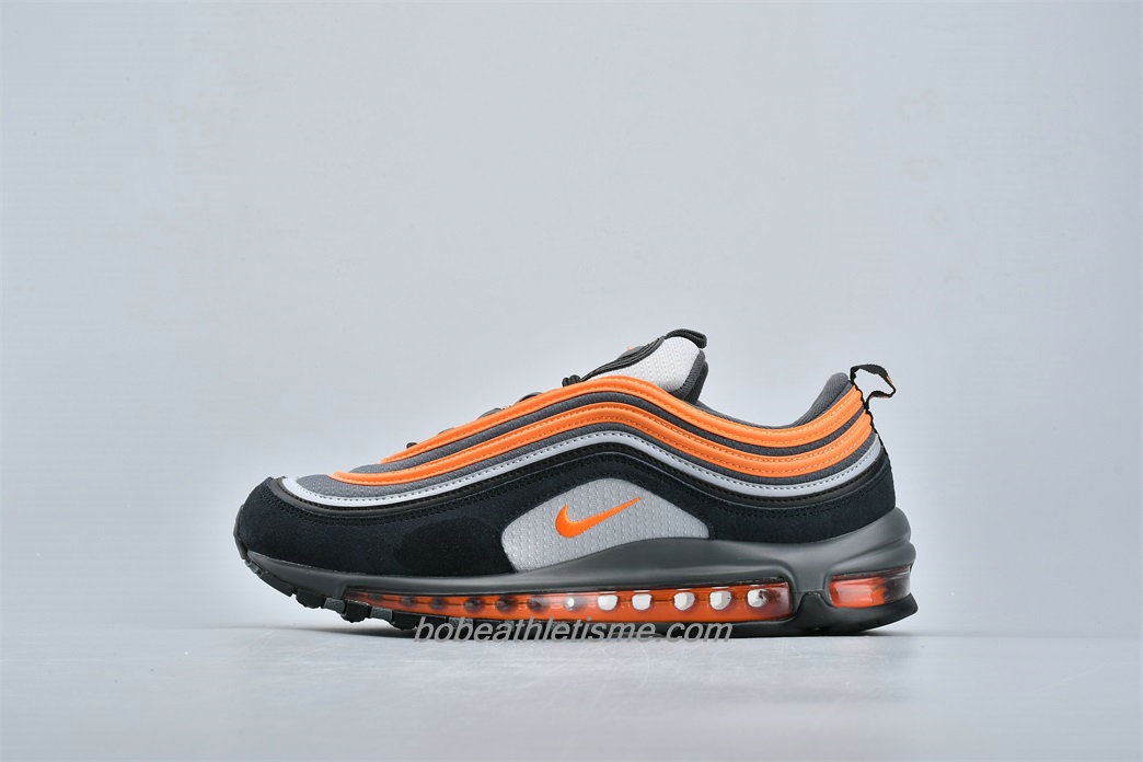 Chaussures Nike Air Max 97 921522 013 Noir / Orange / Gris