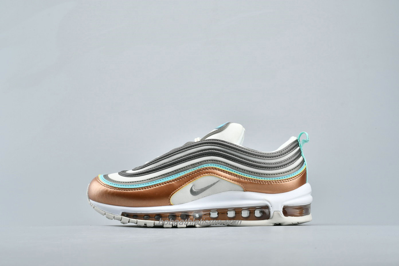 Chaussures Nike Air Max 97 SE CQ4806 071 Marron / Gris / Blanc