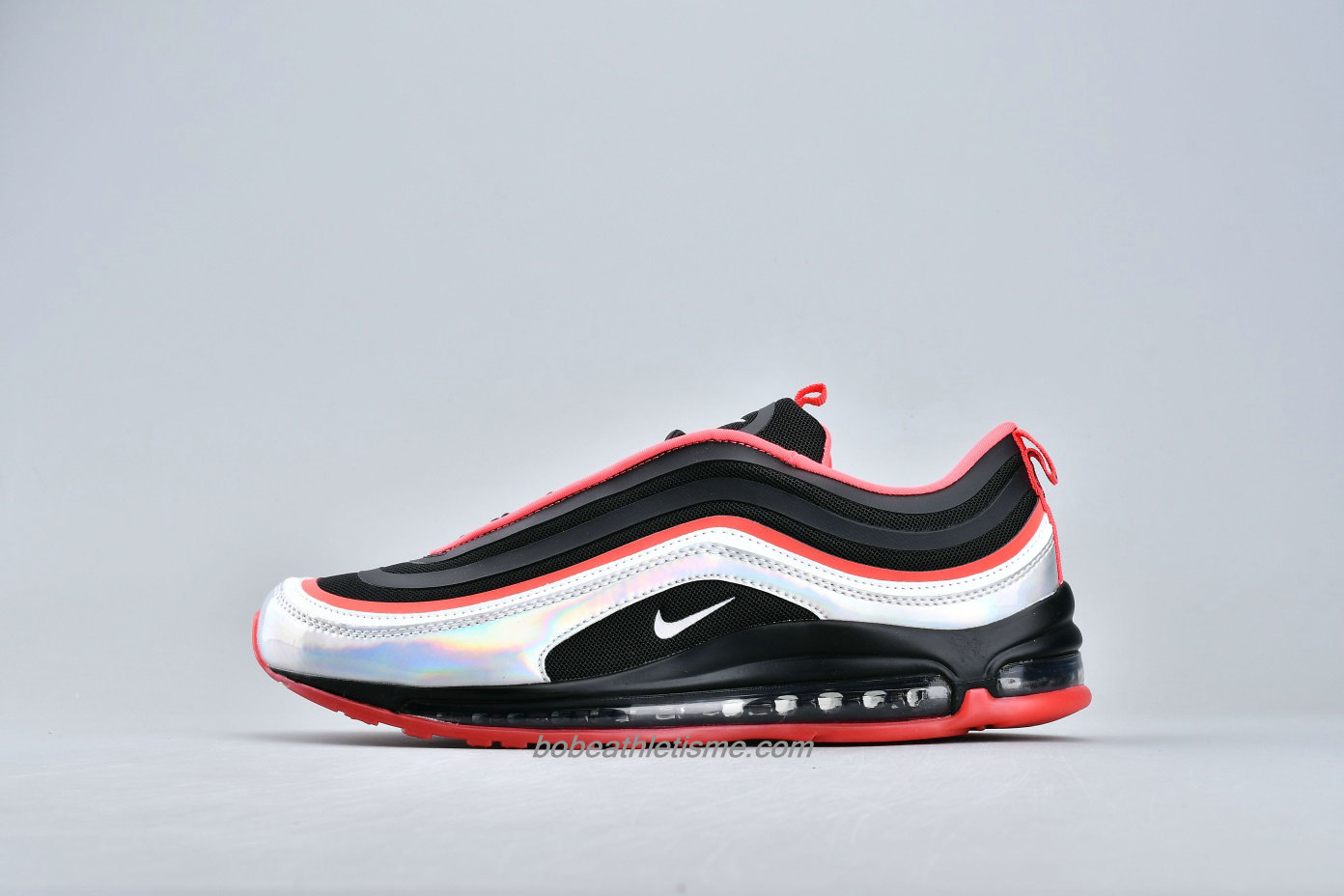 Chaussures Nike Air Max 97 UL 17 SE BV6670 013 Noir / Rouge / Argent