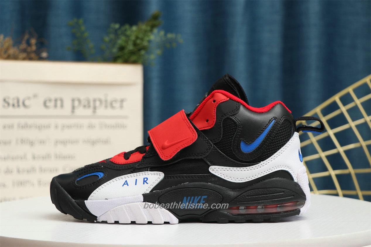 Chaussures Nike Air Max Speed Turf Noir / Rouge / Blanc