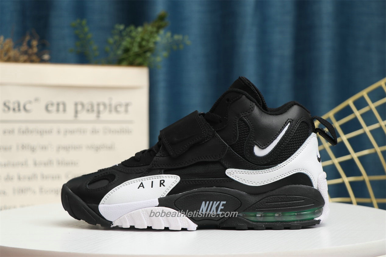 Chaussures Nike Air Max Speed Turf Noir / Blanc