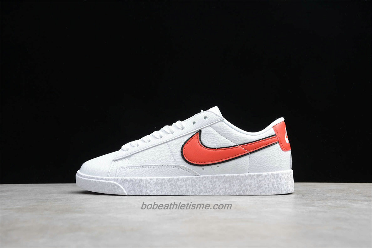 Chaussures Nike Blazer Low QS HH AV3028 109 Blanc / Rouge